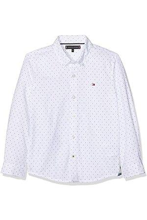Tommy Hilfiger Boy's Mini Pattern Oxford Shirt Blouse