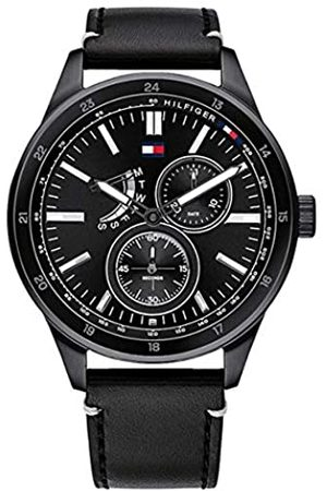 Tommy Hilfiger Men's Analogue Quartz Watch with Leather Strap 1791638