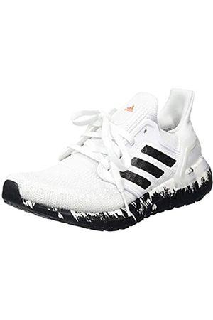 adidas Women's Ultraboost 20 W Running Shoe, FTWR /Core /Signal Coral