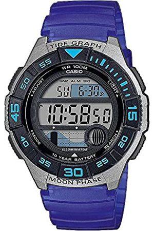 Casio Men's Digital Quartz Watch with Plastic Strap WS-1100H-2AVEF