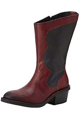 Fly London Women's DUNE010FLY Cowboy Boots, (Berry/ 001)