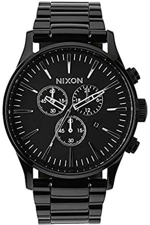 Nixon Men's Analogue Quartz Watch with Stainless Steel Bracelet – A386-001