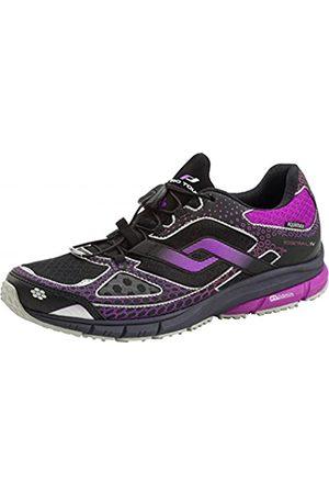 pro touch Women's Ridgetrail AQX IV Trail Running Shoes, (Schwarz/Violett/ 900)