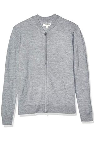 Goodthreads Merino Wool Bomber Sweater Heather