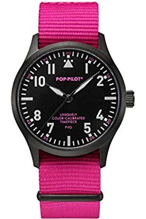 POP-PILOT Pop Pvg Pilot Unisex Watch Analogue Quartz Nylon P4260362631076