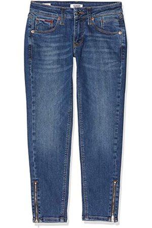 Tommy Hilfiger Women's Scarlett LR Skinny Ankle Zip ADY Straight Jeans