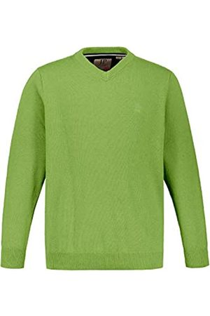 JP 1880 Men's Big & Tall V-Neck Sweater -Melange X-Large 723418 42-XL