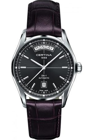 Certina Men's Watch XL Analogue Automatic Leather C006,430,16,081
