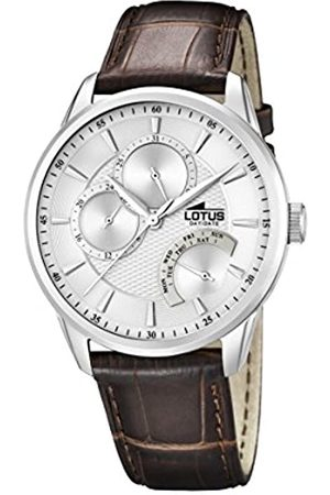 Lotus Men's Quartz Watch with Dial Analogue Display and Leather Strap 15974/1
