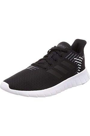 adidas Women's Asweerun Fitness Shoes, (Negbás/Negbás/Grisei 000)
