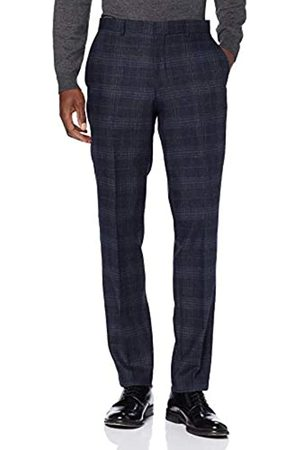 Selected Homme Men's Slhslim-myloiver Chk TRS B Noos Suit Trousers