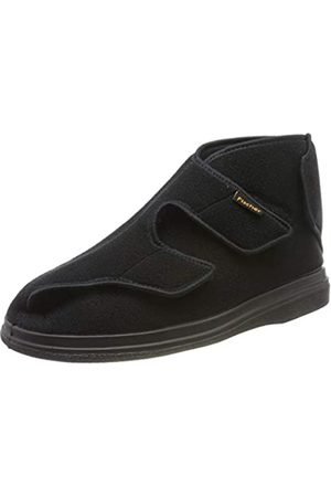 Fischer Unisex Adults' Ortho Hi-Top Slippers, (Schwarz 222)