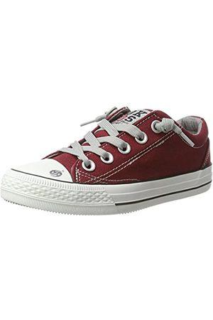 Dockers 38ay613-710720, Unisex Kids' Hi-Top Sneakers, (Dunkelrot 720)