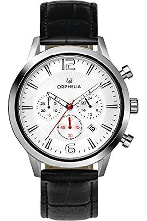 ORPHELIA Mens Chronograph Quartz Watch with Leather Strap OR81800