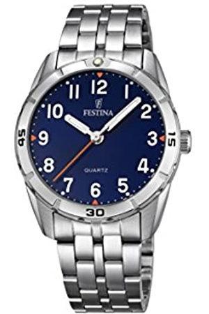 Festina Unisex Analogue Quartz Watch with Stainless Steel Strap F16907/2