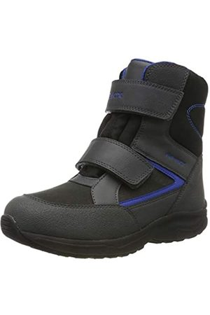 Geox Boys' J KURAY B ABX A Snow Boots, ( /Royal C0245)