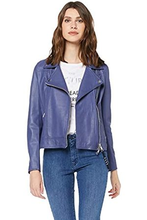 HUGO BOSS Women's Jamore Leather Jacket