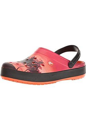 Crocs Unisex Adults' CbndTropicsClg Clogs, (Tangerine)