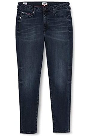 Tommy Jeans Women's Sylvia HIGH Rise SUP Sky ANK GDK Straight Jeans