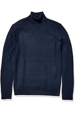 Goodthreads Supersoft Marled Turtleneck Sweater Navy