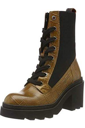 SCOTCH & SODA FOOTWEAR Women's Calista Ankle Boots, (Taupe Croco Optics S281)