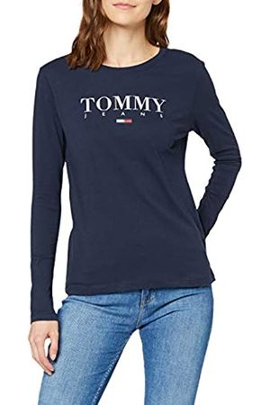 Tommy Jeans Women's TJW Essential Logo Longsleeve Long Sleeve Top
