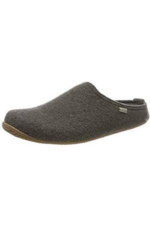 Living Kitzbühel Unisex Adults' Pantoffel Unifarben mit Fußbett Open Back Slippers, (Fango 0462)
