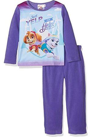 Nickelodeon Girl's Paw Patrol Pup and Away Fleece Pyjama Set