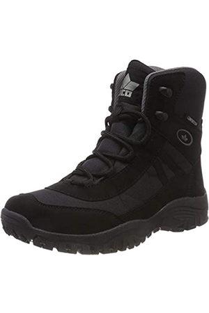 LICO Men's Kenai Snow Boots, (Schwarz Schwarz)