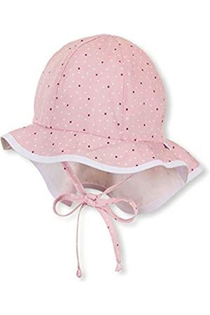 Sterntaler Baby Girls' Cap with Visor and Neck Protection Hat