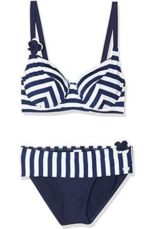 Haute Pression Women's Y8013 Striped Bikini