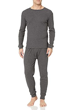 Amazon Essentials Thermal Long Underwear Set Charcoal