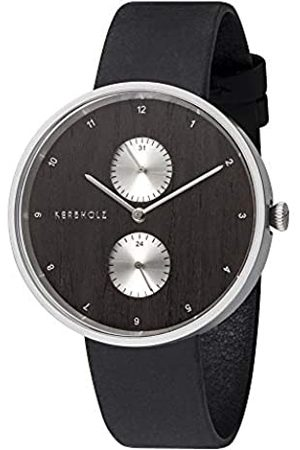 Kerbholz Unisex Adult Analogue Quartz Watch with Leather Strap 4.25124E+12