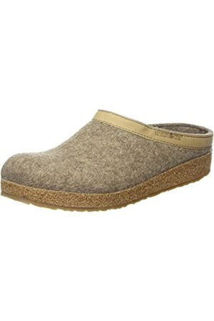 HAFLINGER Unisex Adult Grizzly Torben Slippers, (550 peat)
