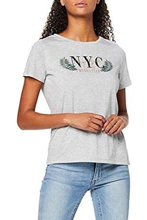 Dorothy Perkins Women's NYC Gld Foil Motif T T-Shirt