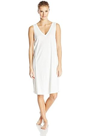 Hanro Women's Pure Essence / Nachthemd o.Arm 95 cm Nightie, Off- - Elfenbein (off 0102)