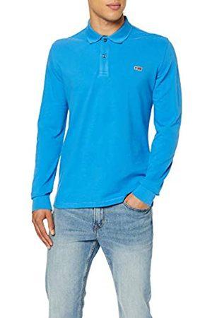 Napapijri Men's TALY 2 LS Polo Shirt