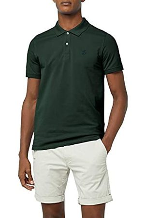 Selected HOMME Men's Shharo Ss Embroidery Polo Noos T-Shirt, (Trekking )
