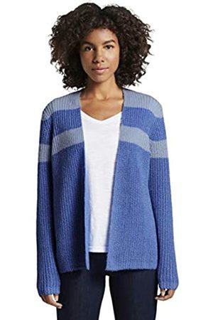 TOM TAILOR Women's Chevron Rib Cardigan Sweater