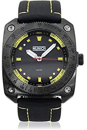 Munich Unisex Adult Analogue Quartz Watch with Rubber Strap MU+121.1D