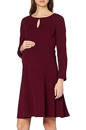 Dorothy Perkins Women's Keyhole Seam Fit and Flare Dress