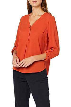 Dorothy Perkins Women's May Dk.Ora 1Btn Rlsv T-Shirt