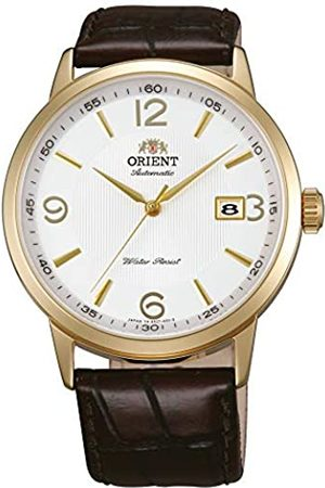 Orient Mens Analogue Automatic Watch with Leather Strap FER27004W0
