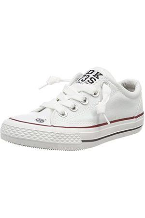 Dockers by Gerli 38ay613-710, Unisex Kids' Hi-Top Sneakers, (Weiss 500)
