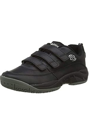 Bruetting Unisex Adults' Racket V Fitness Shoes, (Schwarz Schwarz)