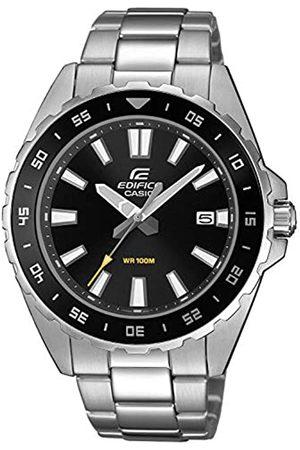 Casio Men's Analogue Quartz Watch with Stainless Steel Strap EFV-130D-1AVUEF