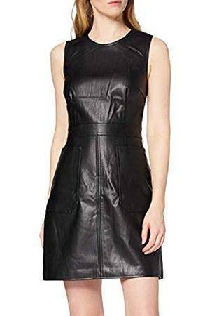 warehouse Women's PU Casual Dress