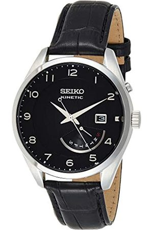 Seiko Men's Analogue Automatic Watch with Leather Strap – SRN051P1