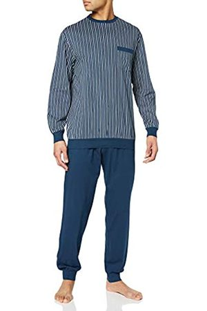 Schiesser Men Pyjamas - Men's Comfort Fit Schlafanzug Lang Pyjama Set