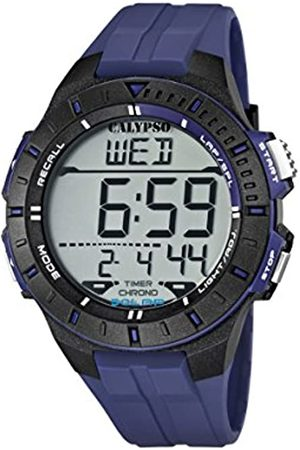 Calypso Unisex Digital Watch with LCD Dial Digital Display and Plastic Strap K5607/2